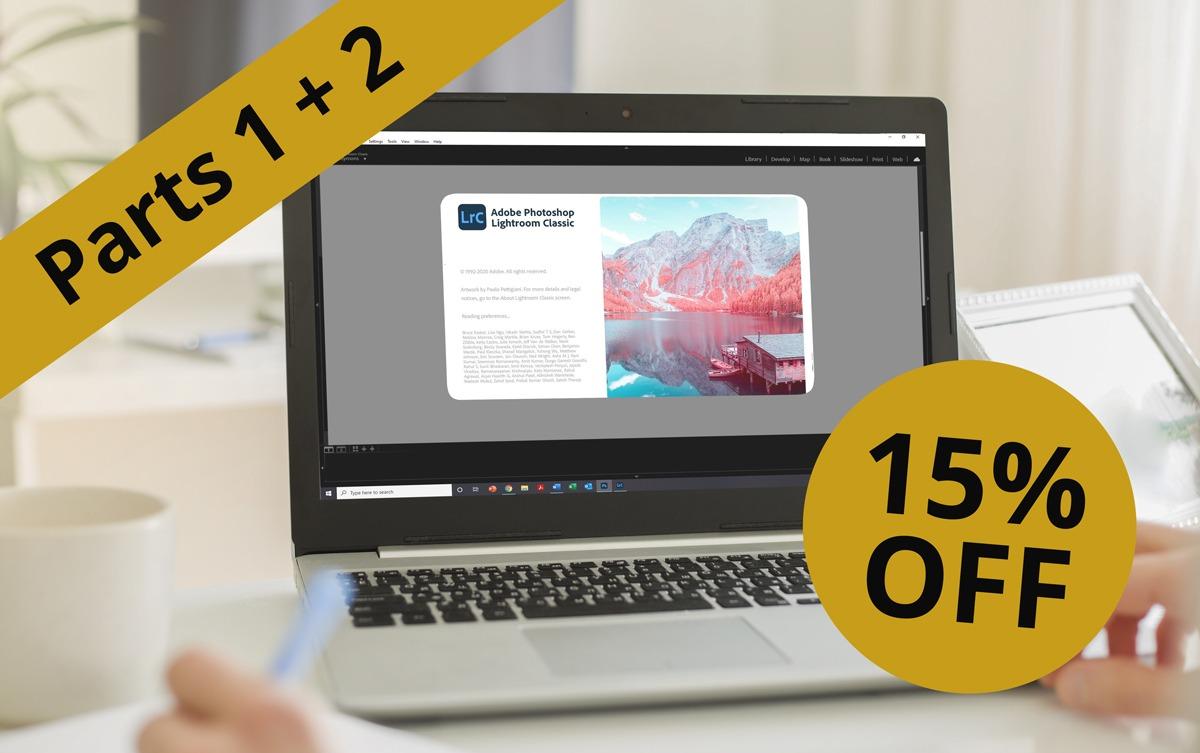 Introduction To Lightroom Parts 1 & 2 | Webinar Online Workshop