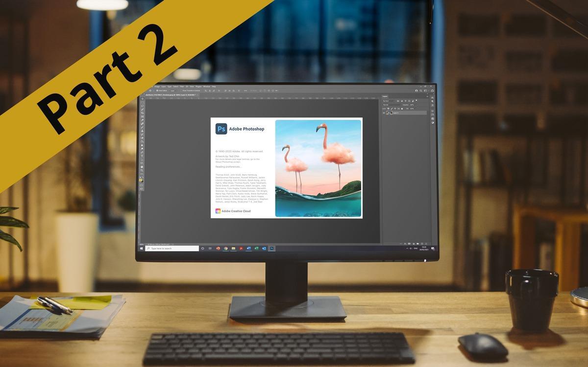 Introduction To Photoshop Part 2 | Webinar Online Workshop